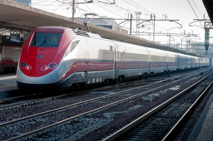 Vinylová Tapeta Vysokorychlostní vlak - Témata