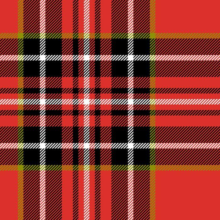 tableau sur toile noir et blanc rouge tissu cossais seamless vecteur pixers nous vivons. Black Bedroom Furniture Sets. Home Design Ideas