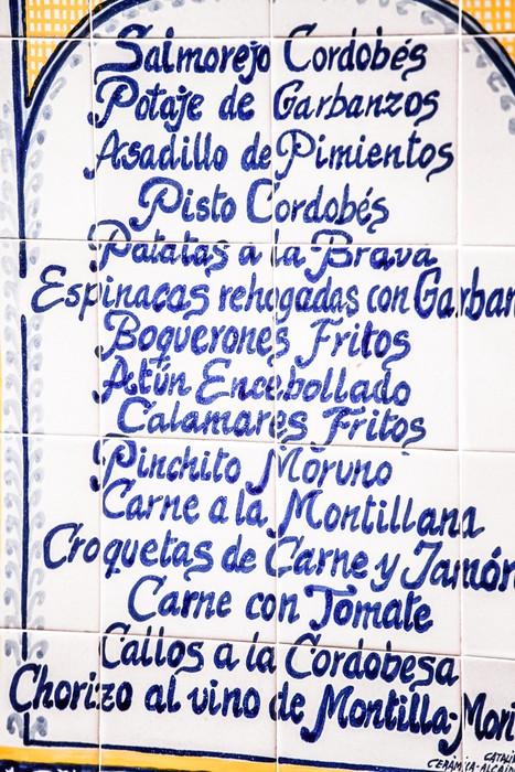 Vinylová Tapeta Detailní záběr na keramiky v Seville, Andalucia, Španělsko - Evropa