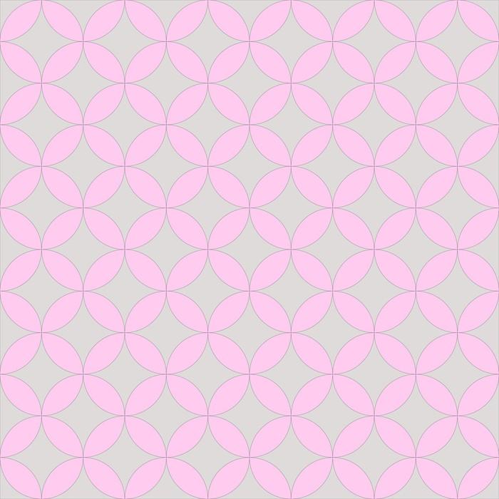 Vinylová Tapeta Abstraktní geometrický vzor umělecké - Abstraktní