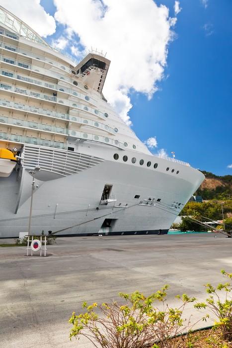 Vinylová Tapeta Cruise ship - Amerika