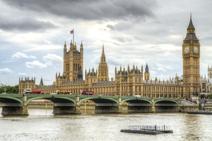 Vinylová Tapeta Houses of Parliament, London. - Témata