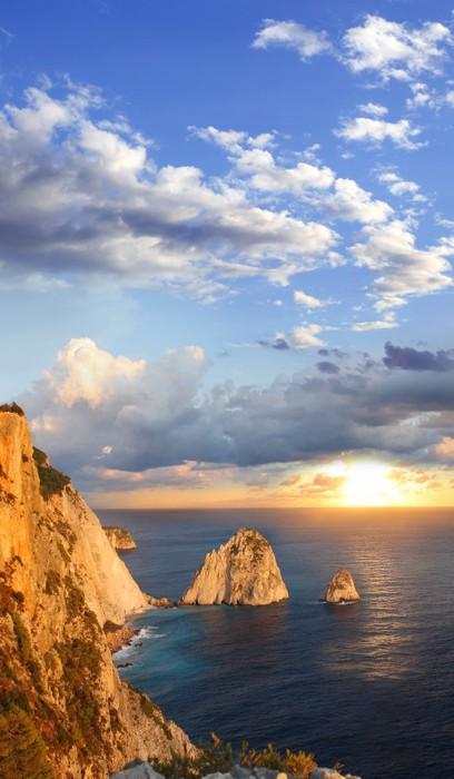 Fototapete Erstaunlich Küste In Zakynthos Insel Griechenland