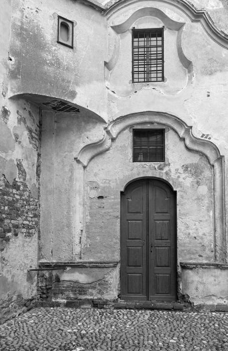 Vinylová Tapeta Starobylý kostel detail B - Čas