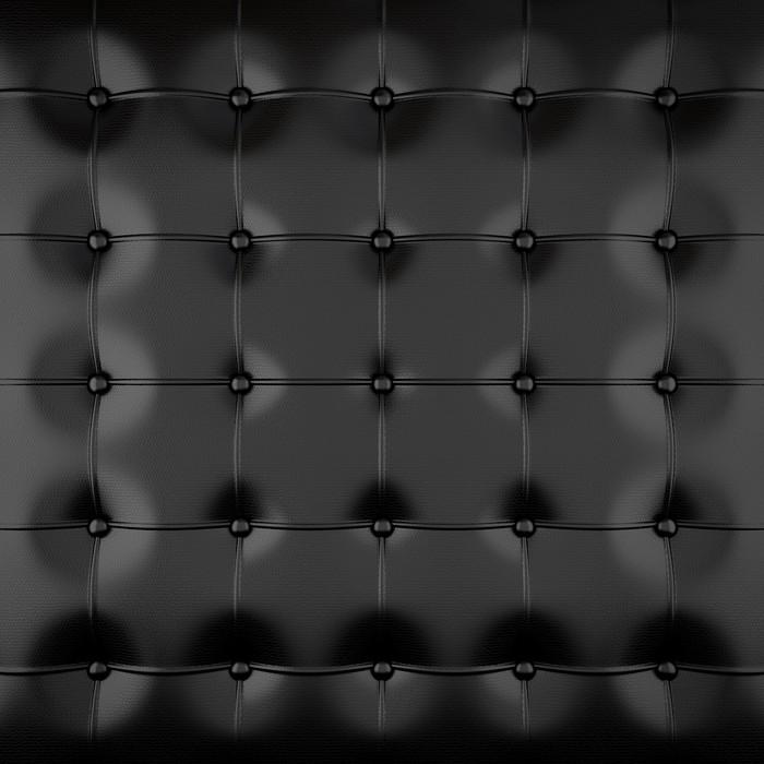 mural de parede black padded leather • pixers® - vivemos para mudar