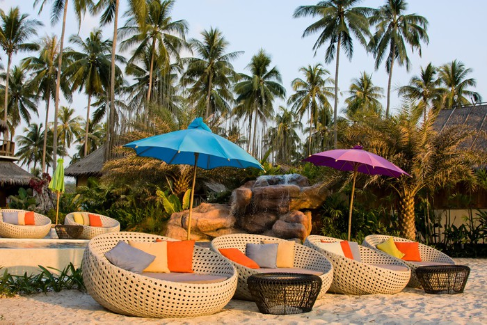 Vinylová Tapeta Tropické pláže v Thajsku - Asie