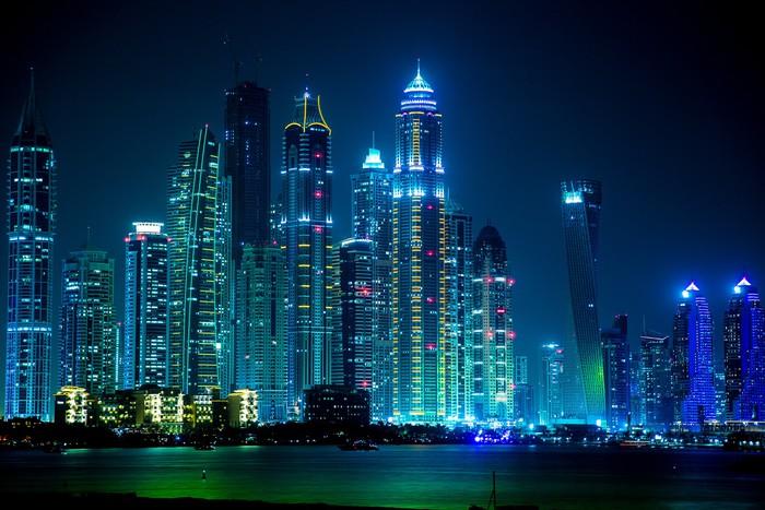 Vinylová Tapeta Dubaj Marina panoráma, Spojené arabské emiráty - Témata