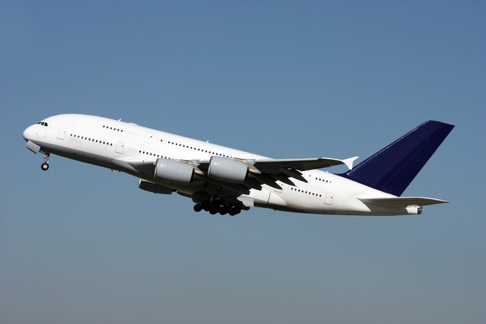 New super jumbo Airbus A380 Wall Mural Pixers We live to change