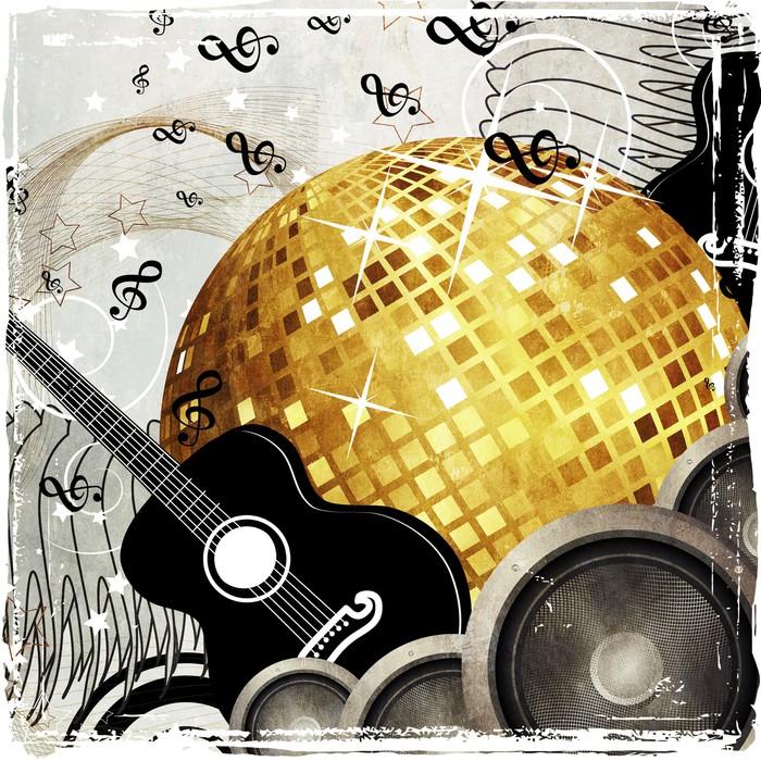 Vinylová Tapeta Design Grunge strana - Pozadí