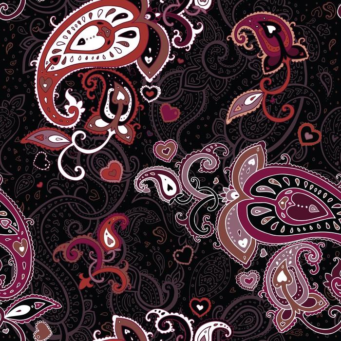 Vinylová Tapeta Vintage Paisley vzor - Styly