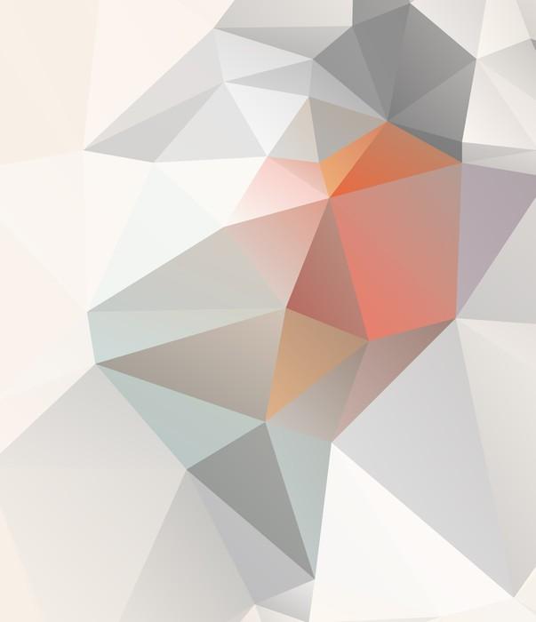 Fototapeta Winylowa Geometryczne tło światło wektorowej EPS 10 - Tematy