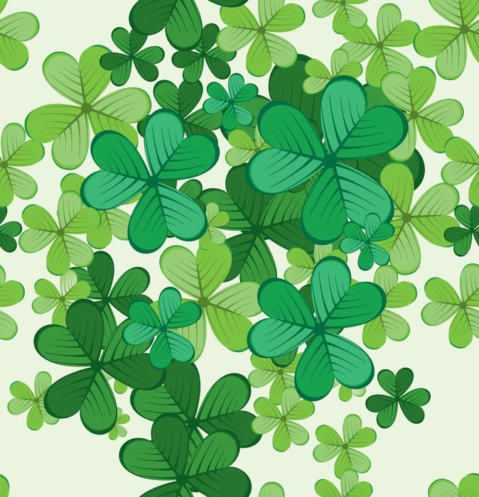 Vinylová Tapeta St.Patrick 's Day bezešvé pozadí - Pozadí