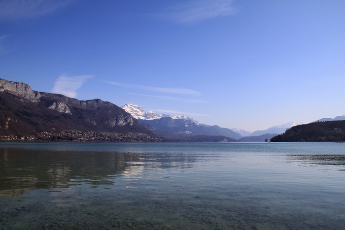 Vinylová Tapeta Annecy jezero - Evropa
