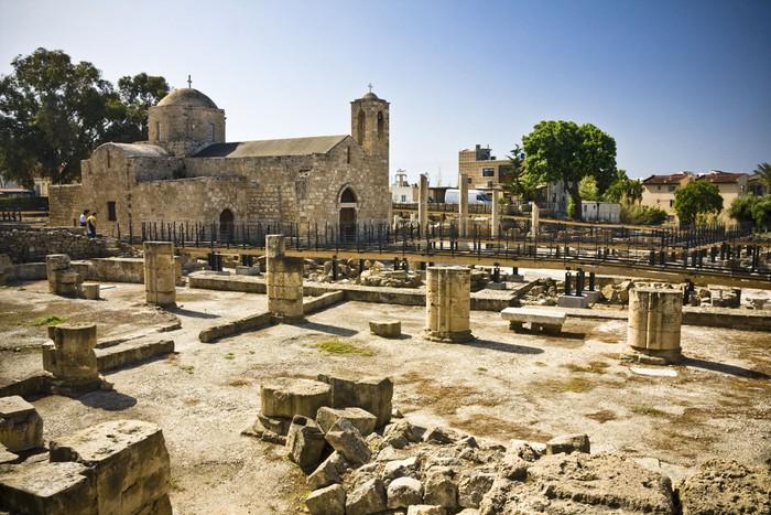 Vinylová Tapeta Raně křesťanské baziliky v Pafos, Kypr - Památky