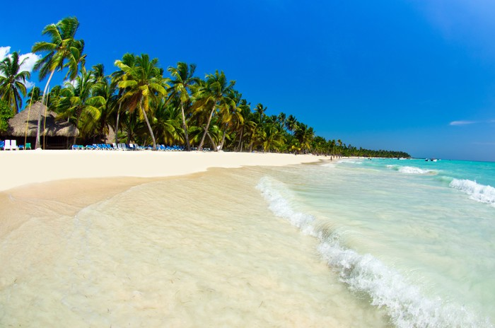 Vinylová Tapeta Tropické moře - Ostrovy