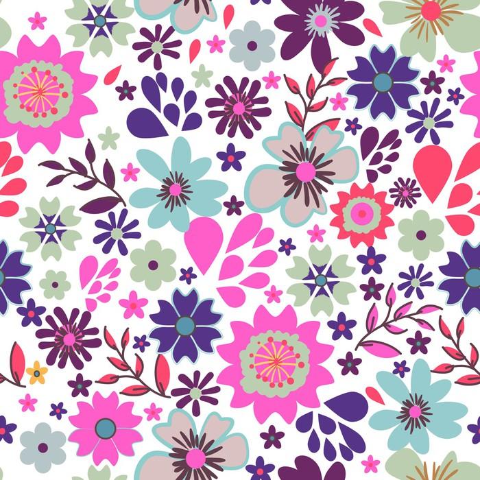 papier peint petite fleurs pixers nous vivons pour changer. Black Bedroom Furniture Sets. Home Design Ideas