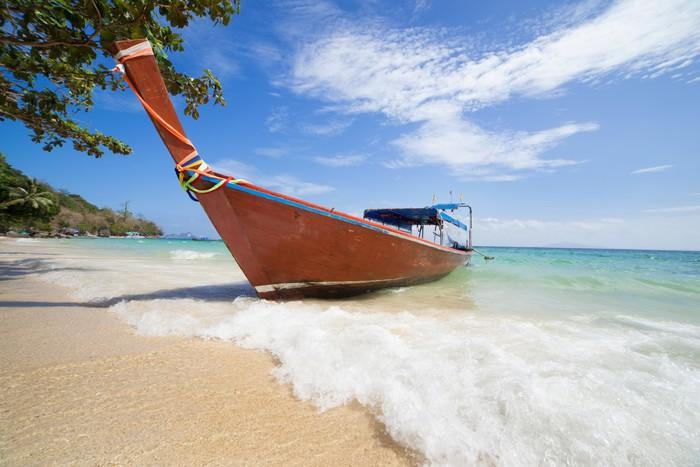 Vinylová Tapeta Long tailed lodí v Thajsku - Prázdniny
