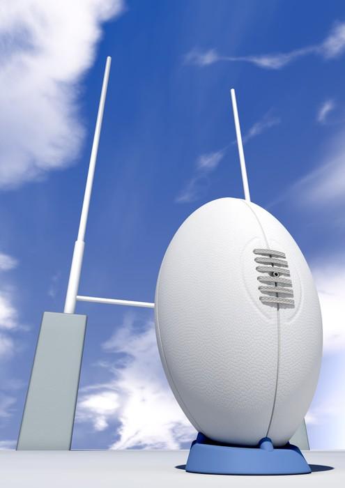Vinylová Tapeta Rugby míč Detailní Infront příspěvků - Rugby