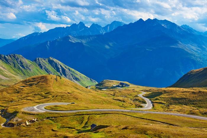 Vinylová Tapeta Alpy krajiny - Hory