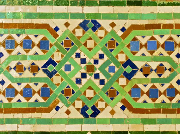 Adesivo per vetri & finestre piastrelle marocchina u2022 pixers