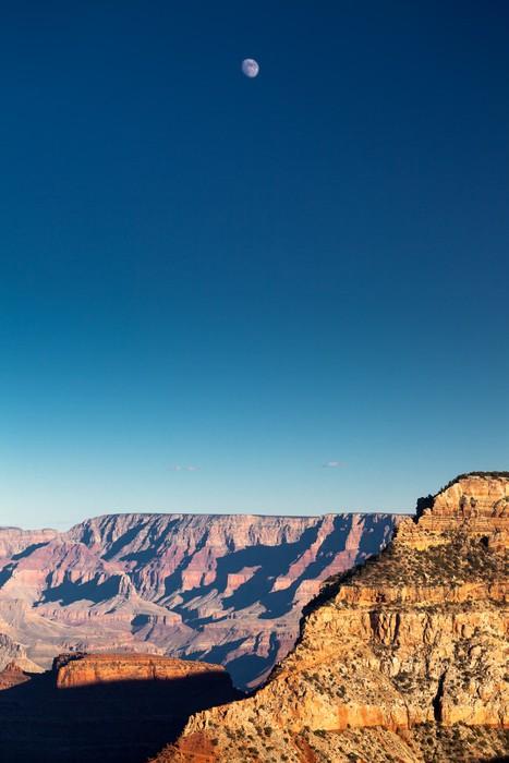 Vinylová Tapeta Luna sul Grand Canyon, USA - Amerika