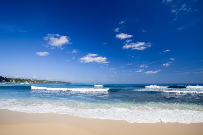 Vinylová Tapeta Krásné tropické pláže - Voda