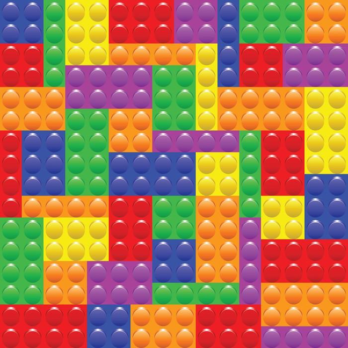 papier peint blocs de lego construction pixers nous vivons pour changer. Black Bedroom Furniture Sets. Home Design Ideas