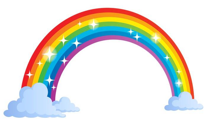 fototapete bild mit regenbogen thema 1 pixers wir leben um zu ver ndern. Black Bedroom Furniture Sets. Home Design Ideas
