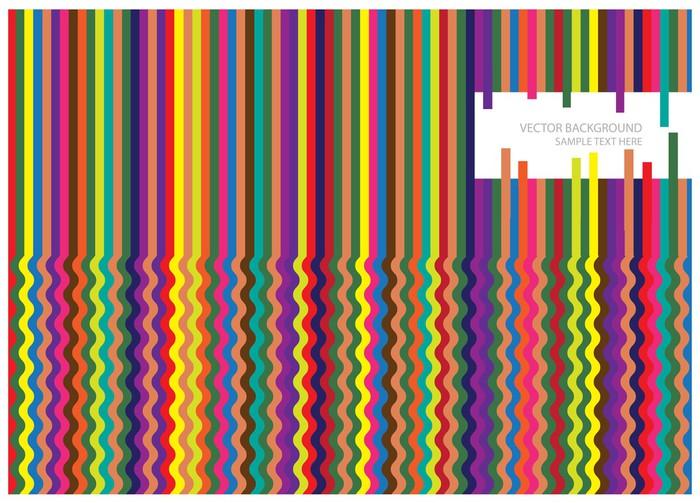 Nálepka Pixerstick Abstraktní vektorové pozadí s barevnými linkami - Pozadí