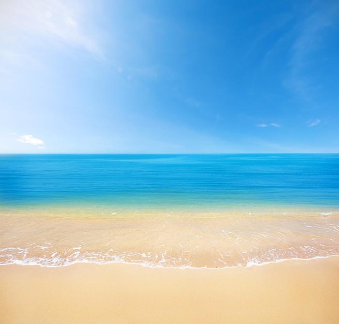 Tableau sur toile plage et mer pixers nous vivons pour changer - Tableaux mer et plage ...