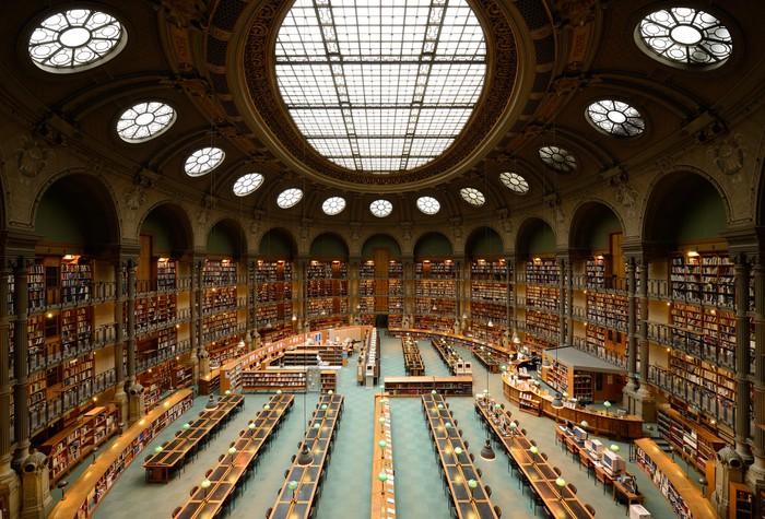 De Bibliotheek Kamer : Fotobehang kamer van de bibliotheek ingericht in de oude stijl