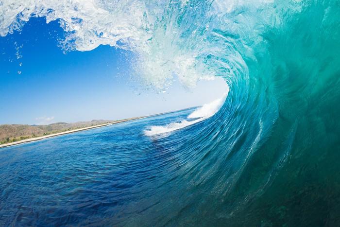 Vinylová Tapeta Ocean wave - Témata
