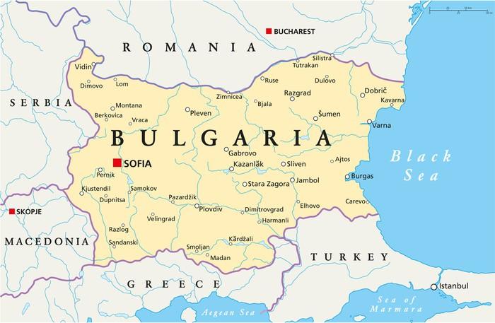 Carta da parati bulgaria mappa bulgaria cronaca pixers for Carta da parati cartina geografica