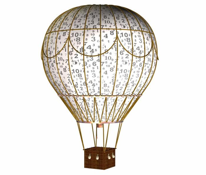 papier peint montgolfiere chiffre pixers nous vivons pour changer. Black Bedroom Furniture Sets. Home Design Ideas