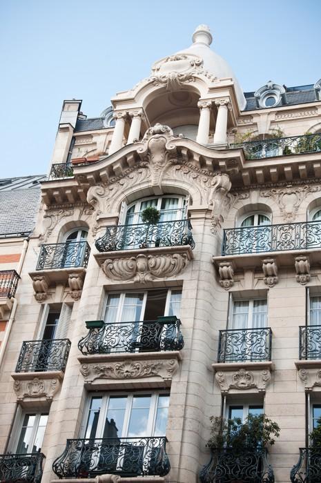 Vinylová Tapeta Pařížský luxusní stavba - Evropská města
