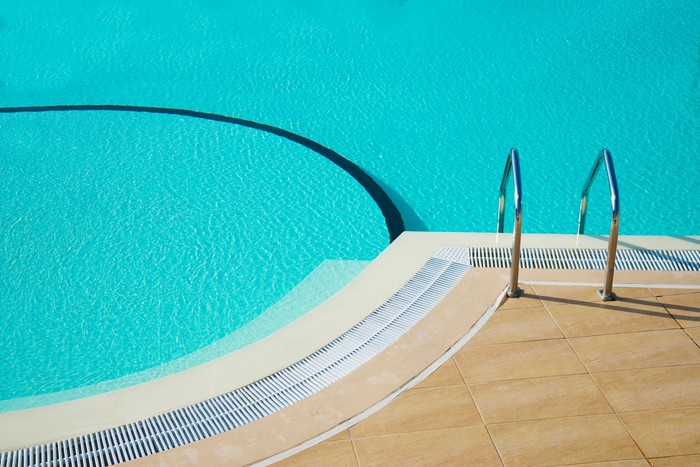 Vinylová Tapeta Bazén - Soukromé budovy