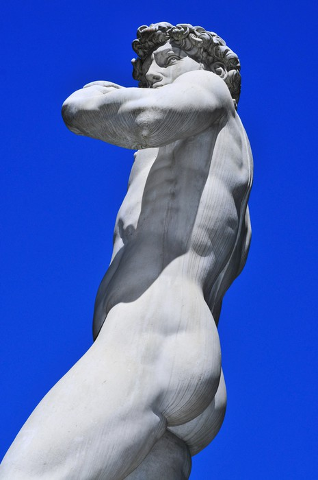 Vinylová Tapeta Replika Davida od Michelangela ve Florencii, Itálie - Evropa