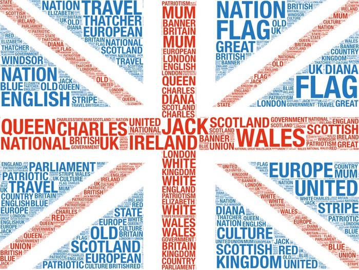 Vinylová Tapeta Velká Británie Vlajka - Témata