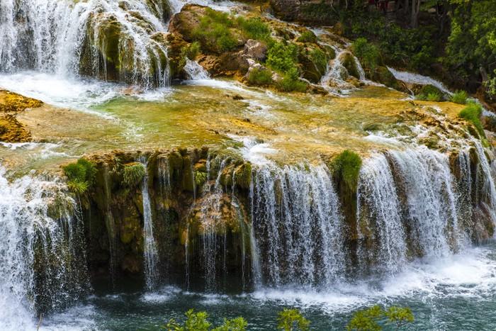 Vinylová Tapeta Národní park Krka (Chorvatsko, Dalmácie) - Evropa