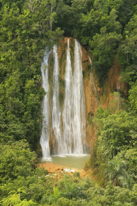 Vinylová Tapeta El Salto de Limon vodopád, Dominikánská republika - Voda