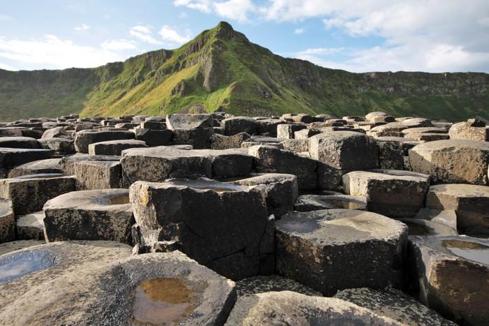 Vinylová Tapeta Giant Causeway kameny a horské - Evropa