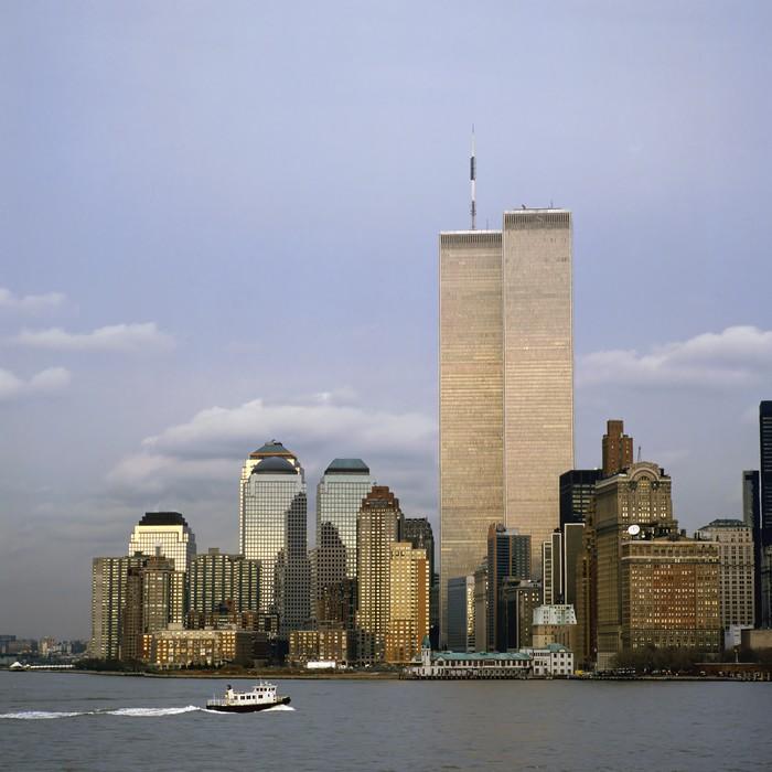 Vinylová Tapeta NYC Skyline With The Twin Towers - Témata