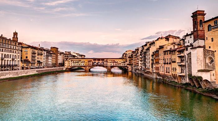Vinylová Tapeta Ponte Vecchio, Florencie, Itálie - Témata