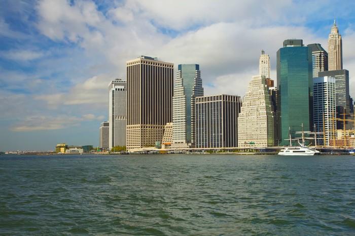 Vinylová Tapeta Dolní Manhattan v New Yorku - Americká města