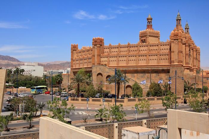 Vinylová Tapeta Zábavné centrum - Králův město, Eilat, Izrael - Jiné