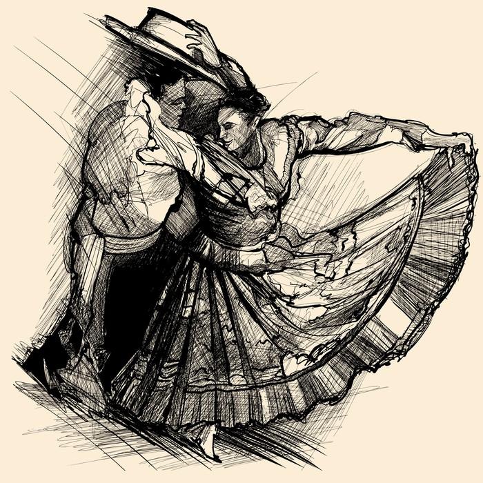 papier peint danse latino pixers nous vivons pour changer. Black Bedroom Furniture Sets. Home Design Ideas