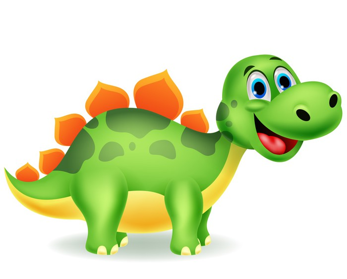 fotomural cute dibujos animados dinosaurio  u2022 pixers clipart pineapple free download clipart pineapple jack o'lantern