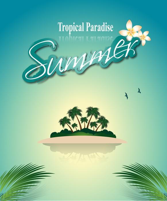 Vinylová Tapeta Krásné Seaside Zobrazit - Prázdniny