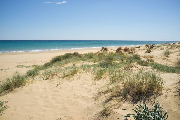 Vinylová Tapeta Costa Blanca pláž - Evropa