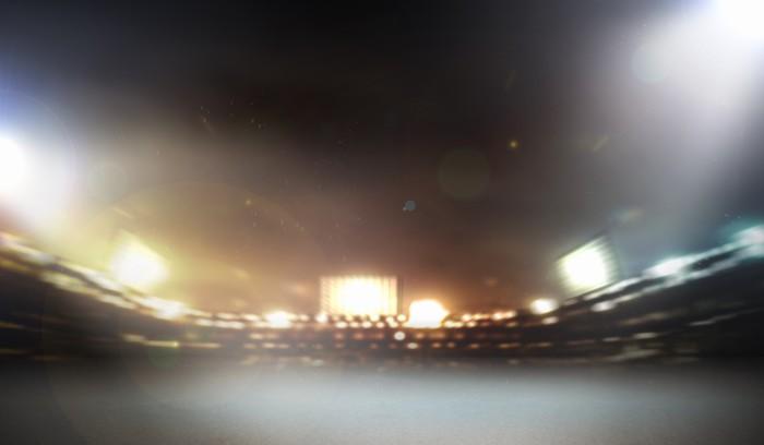 Vinylová Tapeta Stadium světla - Svoboda